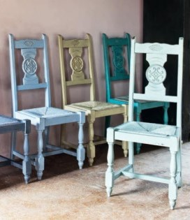 Annie Sloan Chalk Paint Chairs 2