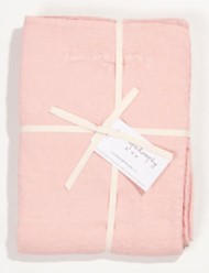 Bed and Philosophy Linen Duvet cover Blush 2