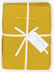 Bed and Philosophy Linen Duvet cover Curry 1
