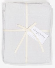 Bed and Philosophy Linen Duvet cover Plume 1
