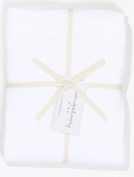 Bed and Philosophy Linen Duvet cover White 1