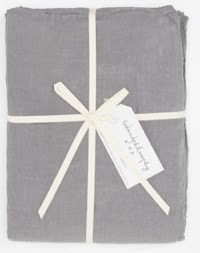 Bed and Philosophy Linen Flat Sheet Orage 1