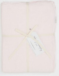 Bed and Philosophy Linen Flat Sheet Shamalo 1