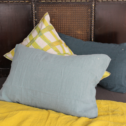 Bed and Philosophy linen pillows-743