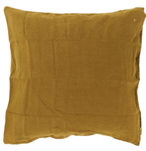 Bed and Philosophy European pillowcase Butternut