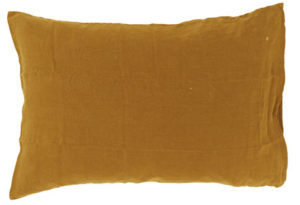 Bed and philosophy standard pillowcase butternut