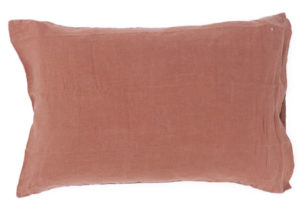 Bed and philosophy standard pillowcase rosebud