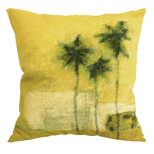 Genevieve Levy Cushion Camion Verde-970