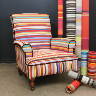 French Stripe in tom Multi