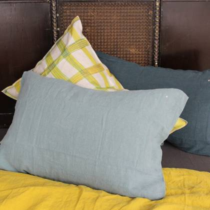 Bed & Philosophy pure linen Pillowcase - Std Size. Available in 17 colours
