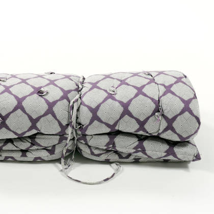 French cotton tufted mattress - Lilas (sold out)
