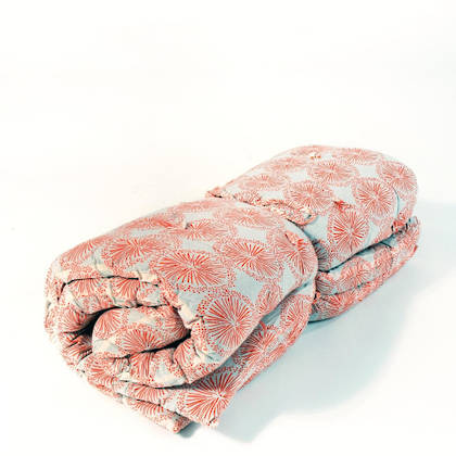 French cotton tufted mattress - Coral Starburst (available to order)