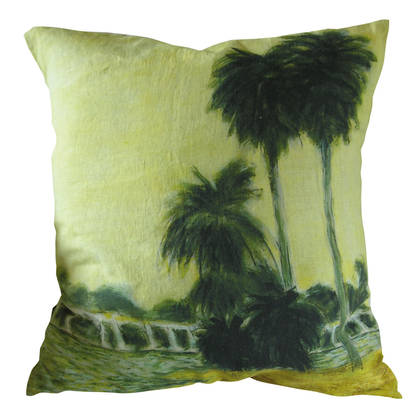 Genevieve Levy Le Lac Cushion 55cm (available to pre-order)