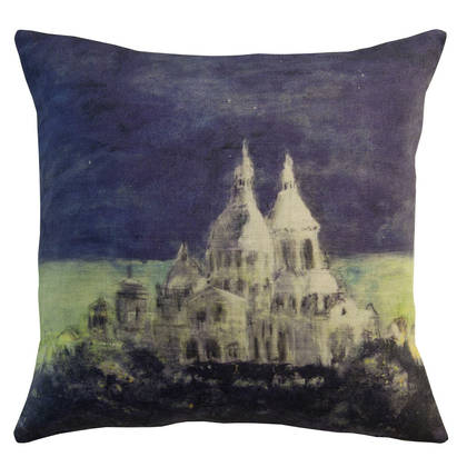 Genevieve Levy Sacre Coeur Cushion 55cm (available to order)