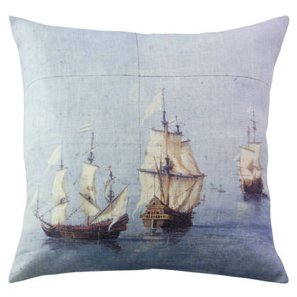 Genevieve Levy Trois Mats Cushion 55cm (available to order)