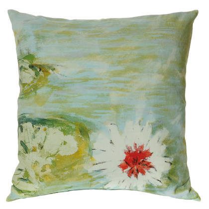 Genevieve Levy Yrupe Dans L'Eau Cushion 55cm (available to order)