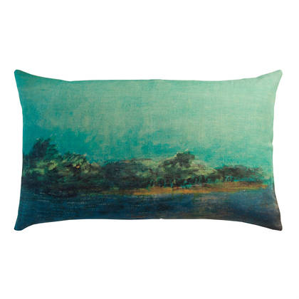 Genevieve Levy Emeraude Cushion 50 x 30cm (available to order)