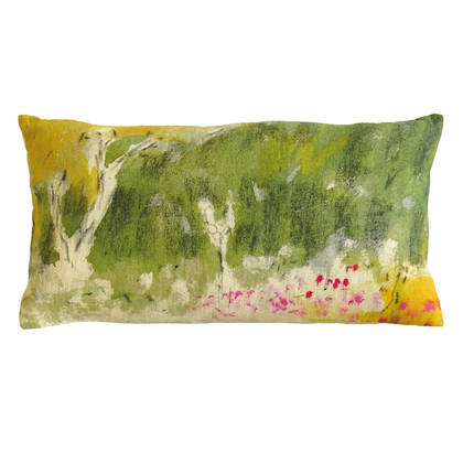 Genevieve Levy Lit de Roses Cushion 50 x 30cm (available to order)
