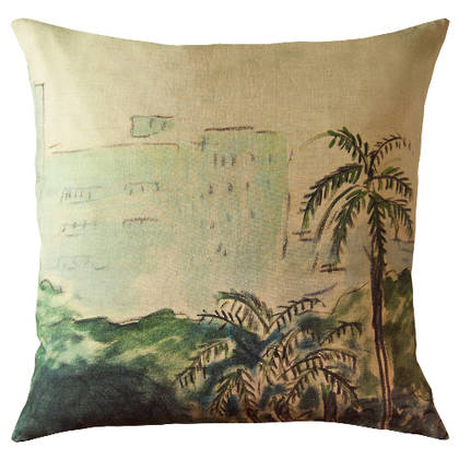 Maison Levy Palmero Cushion 55cm (available to order)