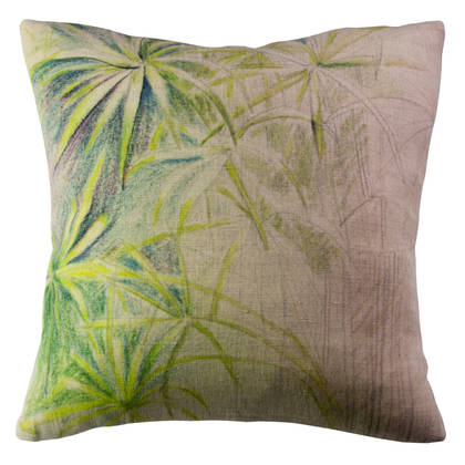 Genevieve Levy Papyrus Cushion 55cm (available to order)