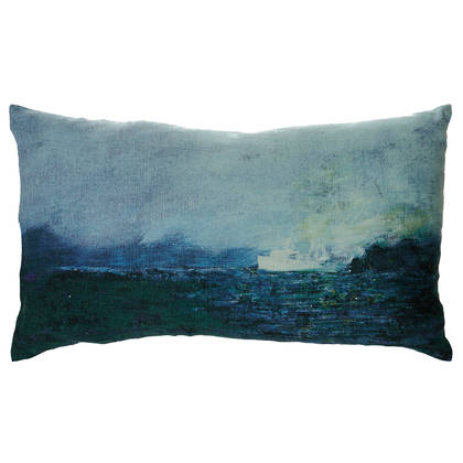 Genevieve Levy Paquebot Cushion 50 x 30cm