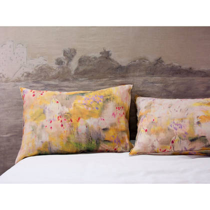 Genevieve Levy Jaune Pillowcase - set of 2 (available to order)