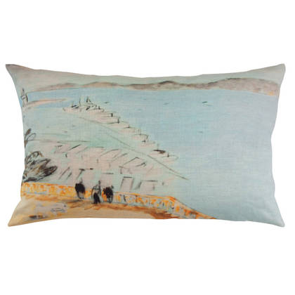 Genevieve Levy Vista al Mar Cushion 50 x 30cm (available to order)