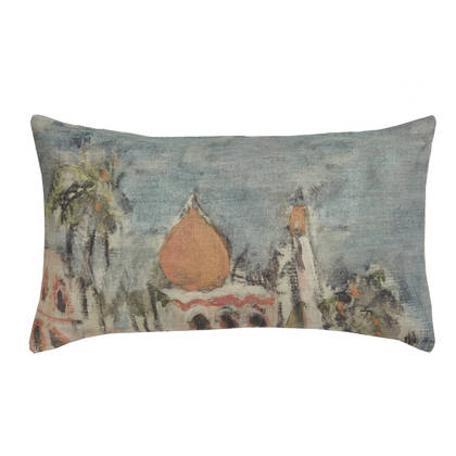 Genevieve Levy Palais Cushion 50 x 30cm (available to order)