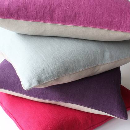 Italian Linen 50cm Cushion - available in 5 colours
