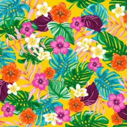 Kitsch Kitchen Oilcloth (140cm wide) - Exotica (out of stock)