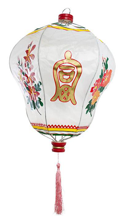 Chinese Lantern in White- Large
