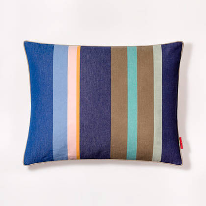 French Stripe Collioure Roy Cushion 40x50cm (out of stock, available to order)