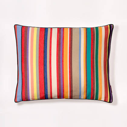 Tom Multi French Stripe Cushion 40x50cm