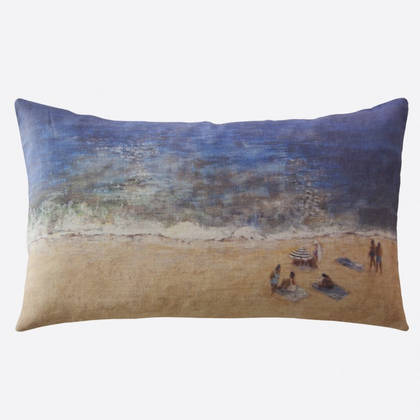 Maison Levy Journee a la Plage Cushion 50 x 30cm (available to order)