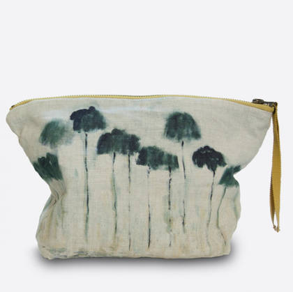 Maison Levy Linen Make up Bag - Reflejos (sold out)
