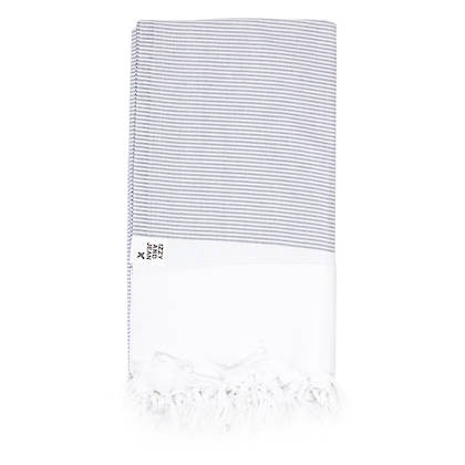 Turkish Towel  Manhattan Charcoal (available to order)