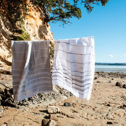 Turkish Towel  Classic - White (sold out)