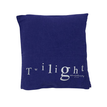 Bed & Philosophy pure linen Molly Cushion in Twilight