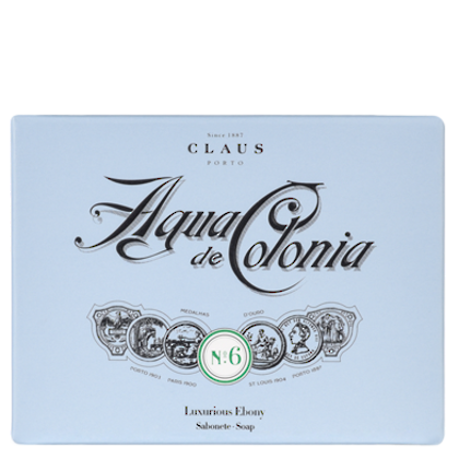 Claus Porto Soap  - Agua de Colonia 150gm Boxed. Luxurious Ebony