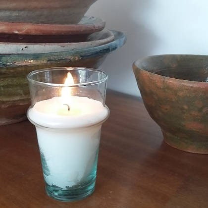 Hand poured Soy Wax Candles - Baies