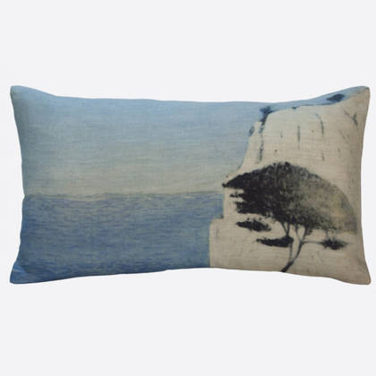 Maison Levy Roca Blanca Cushion 50 x 30cm (available to order)