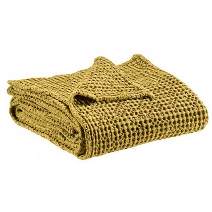 Portuguese Cotton Throw - Curry (sold out)