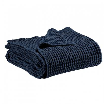 Portuguese Cotton Throw - Deep Indigo (sold out)