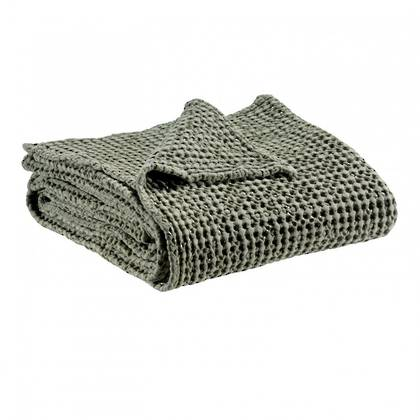 Portuguese Cotton Throw - Kaki (out of stock)