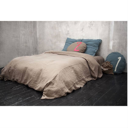 Bed & Philosophy pure linen Super King Duvet cover - Available in 16 colours