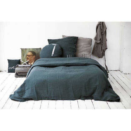 Bed & Philosophy pure linen King size Duvet cover. Available in 17 colours