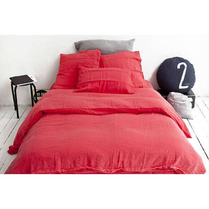 Bed & Philosophy pure linen Queen size Duvet cover. Available in 8 colours