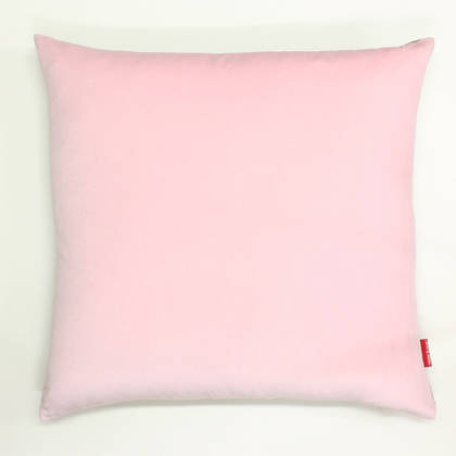 Blush Cotton Velvet 50cm Cushion