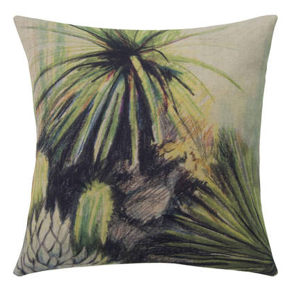 Genevieve Levy Cactes Cushion 55cm (available to order)