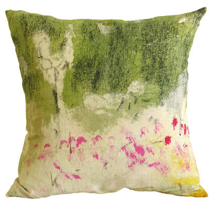 Genevieve Levy Lit de Roses Cushion 55cm (Available to pre-order)